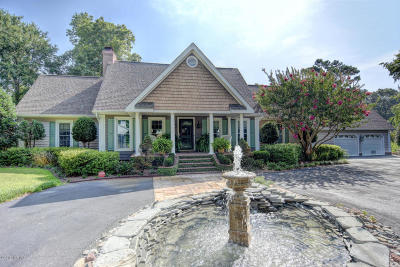 Olde Point, Olde Point Villas Single Family Home For Sale: 117 White Heron Cove Road