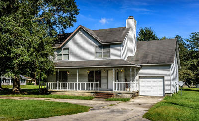 Jacksonville Single Family Home Active Contingent: 835 Mill River Road