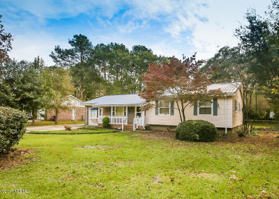 Onslow County Single Family Home Active Contingent: 514 Brynn Marr Road