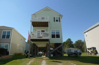 Onslow County Single Family Home For Sale: 272 Riverside Drive