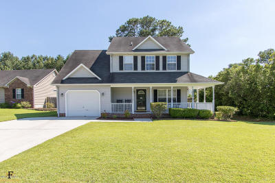 Jacksonville Single Family Home For Sale: 902 Huff Drive