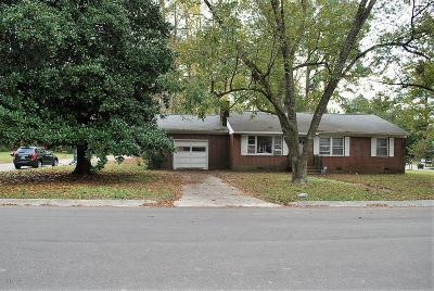 Grifton Single Family Home For Sale: 6769 Dupont Street
