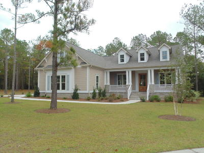 Calabash Single Family Home Sold: 385 NW Canoe Court