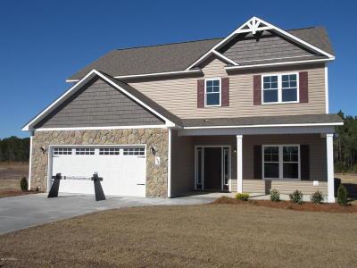 hubert Single Family Home For Sale: 156 Peytons Ridge Drive