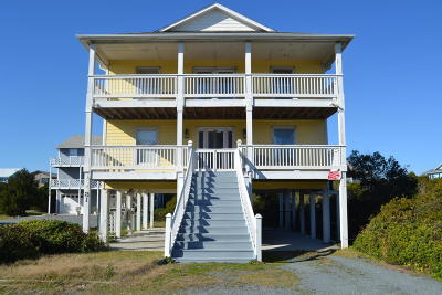 Topsail Beach Single Family Home For Sale: 814 N Anderson Boulevard