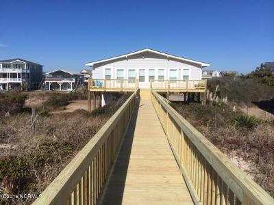 Holden Beach Single Family Home For Sale: 239 Ocean Boulevard W