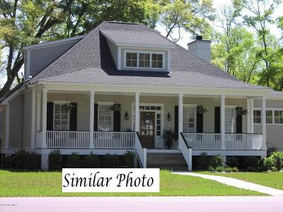 Onslow County Single Family Home For Sale: 156 Beagle Drive