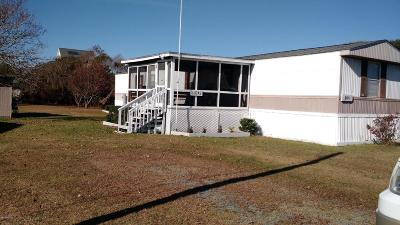 Atlantic Beach Manufactured Home For Sale: 205 Knollwood Drive