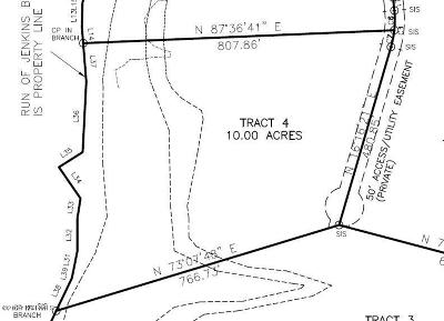 Richlands Residential Lots & Land For Sale: Tract 4 Comfort Road