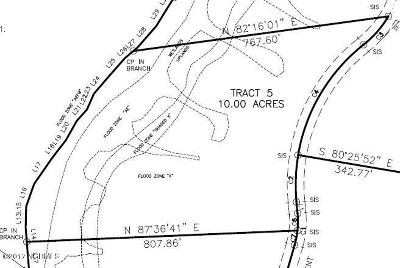 Richlands Residential Lots & Land For Sale: Tract 5 Comfort Road