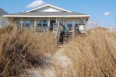 Holden Beach Single Family Home For Sale: 419 Ocean Boulevard W