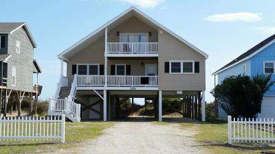 Holden Beach Single Family Home For Sale: 175 Ocean Boulevard W