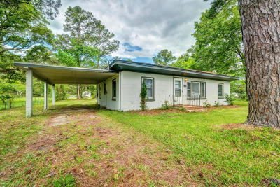 Morehead City Single Family Home For Sale: 1231 N 20th Street