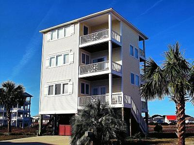 Carolina Beach, Kure Beach Single Family Home For Sale: 1609 Canal Drive