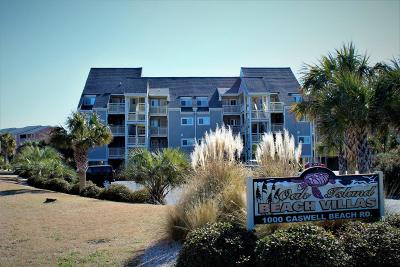 Oak Island NC Condo/Townhouse For Sale: $235,000