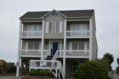 Holden Beach Single Family Home For Sale: 1135 Ocean Boulevard W