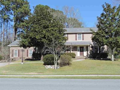 Jacksonville Single Family Home For Sale: 1012 Pine Valley Road