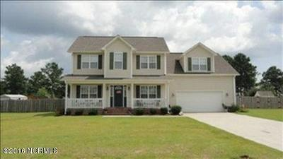 Onslow County Single Family Home For Sale: 222 Target Lane
