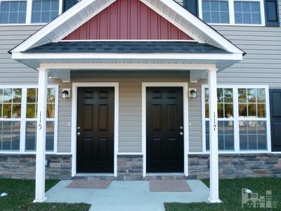 Beulaville Condo/Townhouse For Sale: 117 Cornerstone Drive