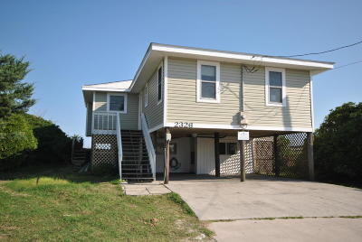 North Topsail Beach, Surf City, Topsail Beach Single Family Home For Sale: 2326 S Shore Drive