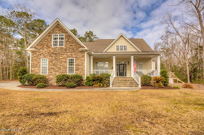Olde Point, Olde Point Villas Single Family Home For Sale: 104 Coots Trail