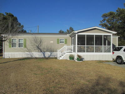 Harkers Island Manufactured Home For Sale: 117 Liston Lane