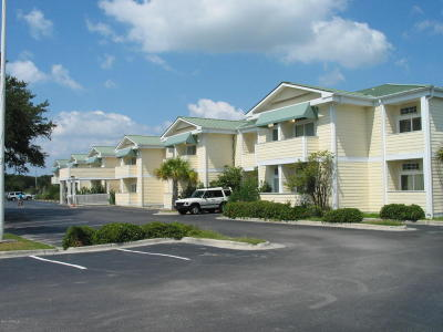 Atlantic Beach Condo/Townhouse For Sale: 602 W Fort Macon Road W #122