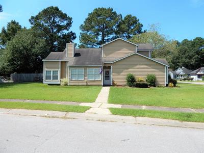 Jacksonville Single Family Home For Sale: 101 Mulberry Lane