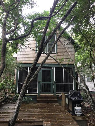 Bald Head Island Single Family Home For Sale: 630 Chicamacomico Way #3