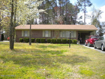 Kinston Single Family Home For Sale: 612 Fitzgerald Drive
