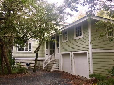 Bald Head Island Single Family Home For Sale: 31 Dowitcher Trail