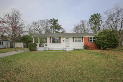 Jacksonville Single Family Home For Sale: 702 Vernon Drive