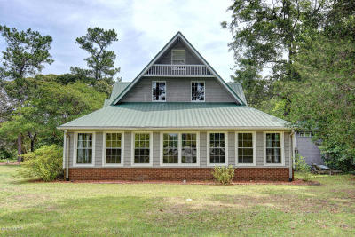 Sneads Ferry Single Family Home For Sale: 104 Oak Lane
