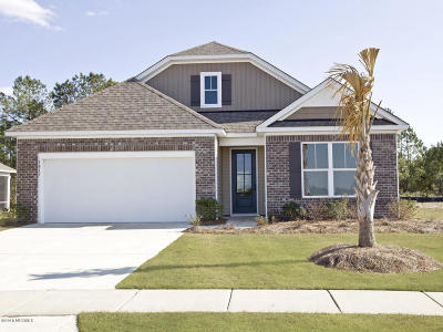 Bolivia Single Family Home For Sale: 1817 Bards Drive SE #Lot 185