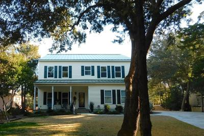Pine Knoll Shores NC Single Family Home For Sale: $800,000