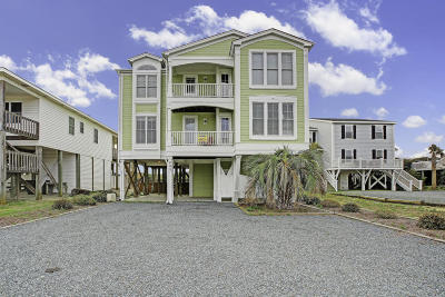 Holden Beach Single Family Home For Sale: 223 Ocean Boulevard W