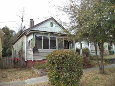 Wilmington Single Family Home For Sale: 709 Anderson Street