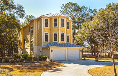 Oak Island Single Family Home For Sale: 2 Augusta Drive