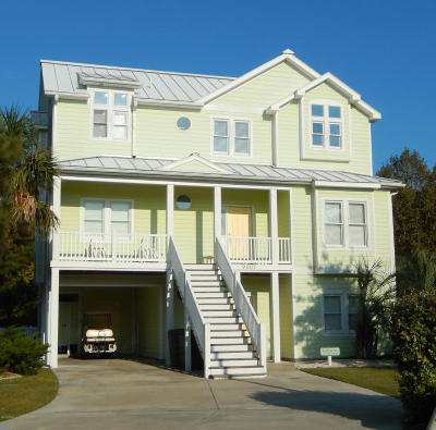 Emerald Isle Single Family Home For Sale: 9907 Thistleroy Lane