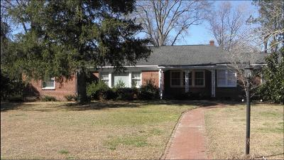 Edgecombe County Single Family Home For Sale: 306 N Howard Circle