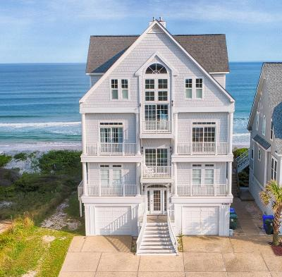 North Topsail Beach, Surf City, Topsail Beach Single Family Home For Sale: 4368 Island Drive