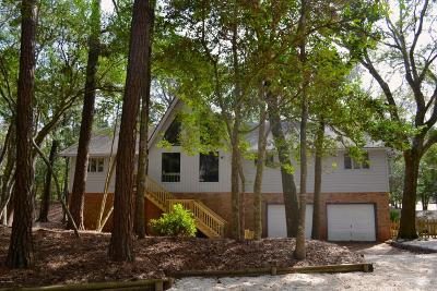 Pine Knoll Shores NC Single Family Home For Sale: $349,000