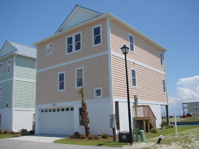 Topsail Beach Single Family Home For Sale: 930 Observation Lane