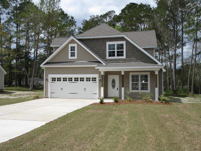 Onslow County Single Family Home For Sale: 309 Chadwick Shores Drive