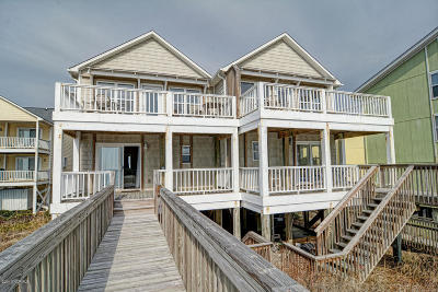 Surf City Condo/Townhouse For Sale: 826 N Topsail Drive #B