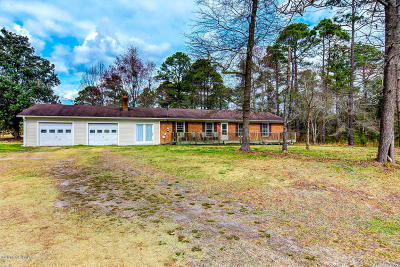Richlands Single Family Home Active Contingent: 386 Luther Banks Road