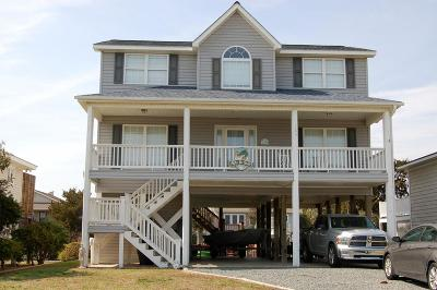 Holden Beach Single Family Home For Sale: 129 Marlin Drive