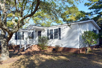 Harkers Island Manufactured Home For Sale: 169 Nelson Street