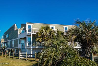 Oak Island Single Family Home For Sale: 6008 W Beach Drive