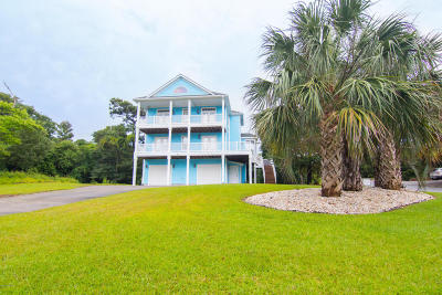 Emerald Isle Single Family Home For Sale: 7327 Canal Drive
